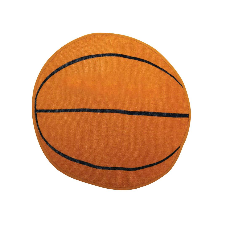 BASKETBALL SHAPED SPORTS TOWEL